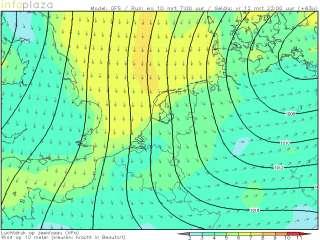 Windprognose Benelux